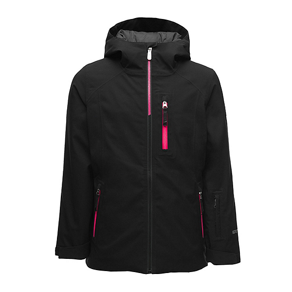 Spyder Couloir GTX Girls Ski Jacket, Black, 600