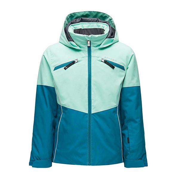 Spyder Conquer Girls Ski Jacket, Swell, 600
