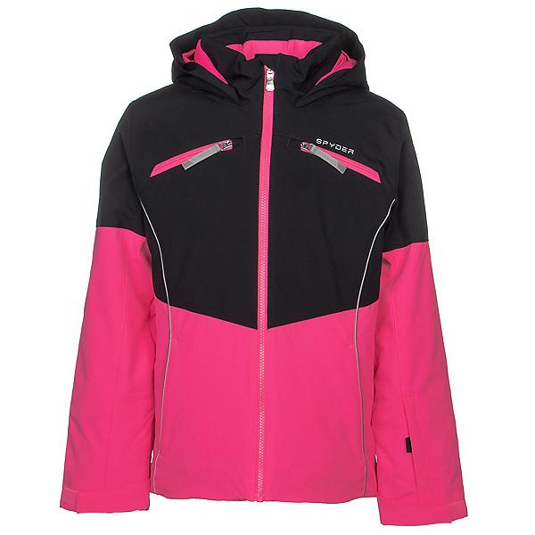 Spyder Conquer Girls Ski Jacket, Bryte Bubblegum, 600