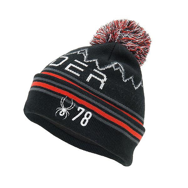 Spyder Icebox Kids Hat, Black, 600