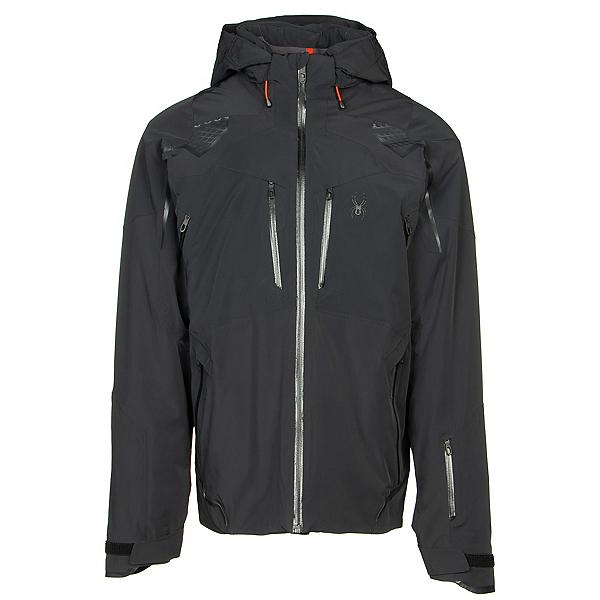 Spyder Pinnacle GTX Mens Insulated Ski Jacket 2020, Black, 600