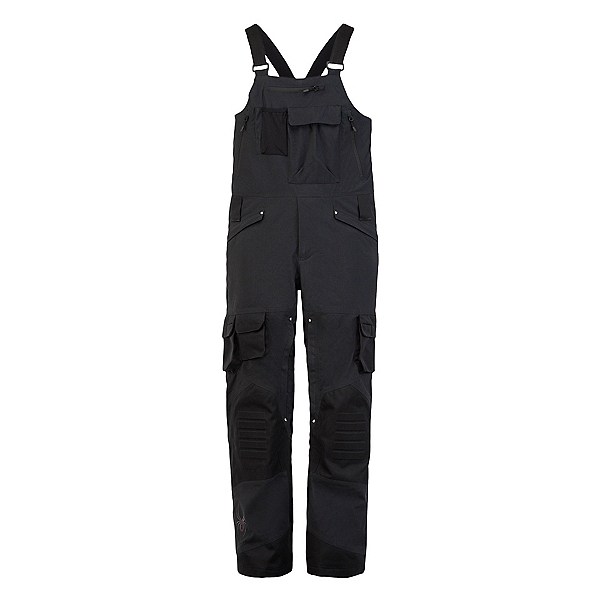 Spyder Coaches GTX Bib Mens Ski Pants, Black, 600