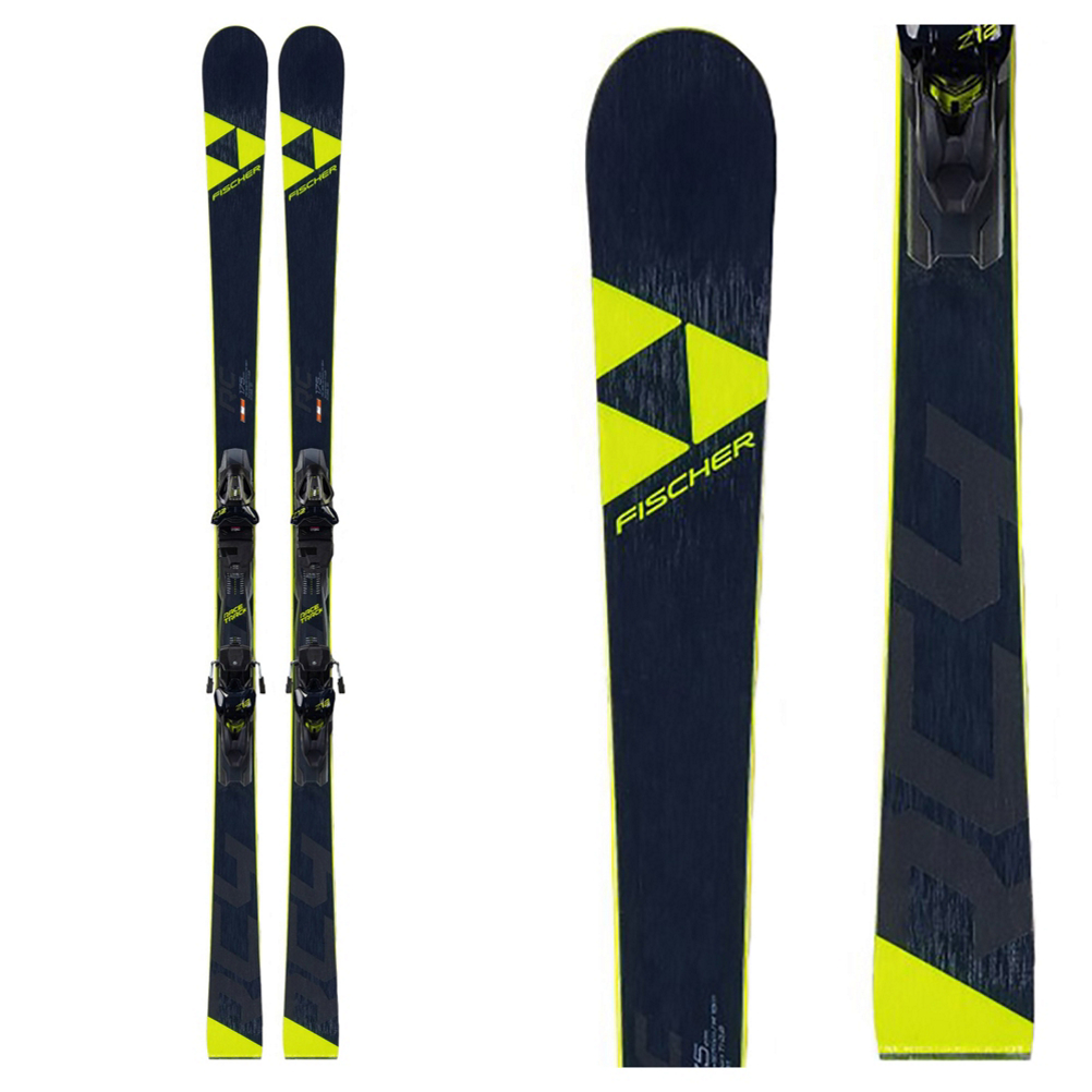 Fischer RC4 World Cup RC Race Skis with Z12 Powerrail Bindings 2020