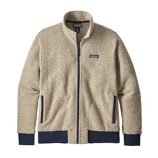 Patagonia Woolyester Fleece Mens Jacket, Oatmeal Heather, 600