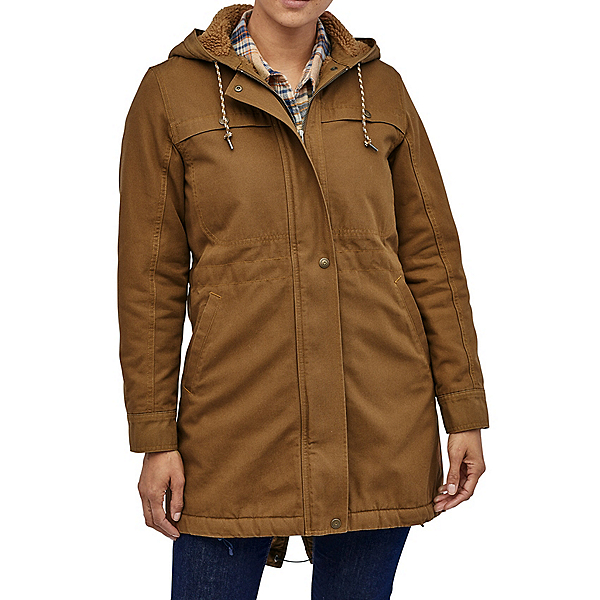 Patagonia Insulated Prairie Parka Womens Jacket, Owl Brown, 600