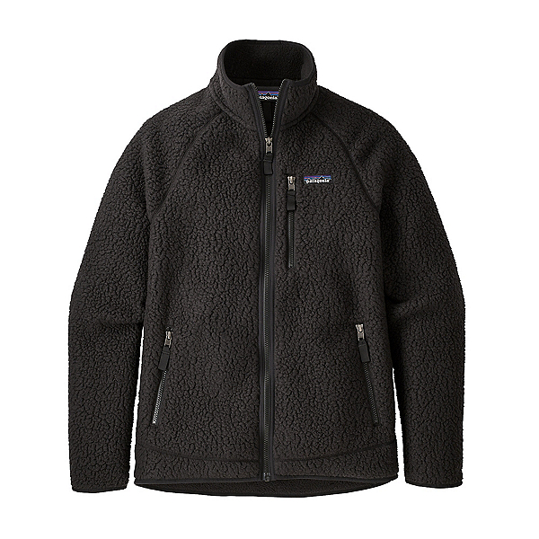 Patagonia Retro Pile Mens Jacket, Black, 600