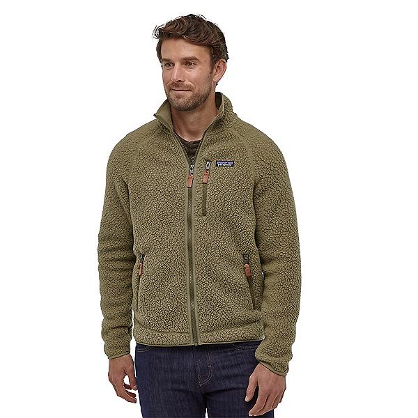Patagonia Retro Pile Mens Jacket, Sage Khaki, 600