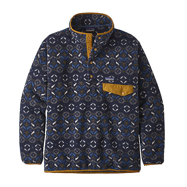 Patagonia Synchilla Snap-T Mens Mid Layer, Tundra Cluster New Navy, 600
