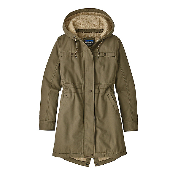 Patagonia Insulated Prairie Parka Womens Jacket, Sage Khaki, 600
