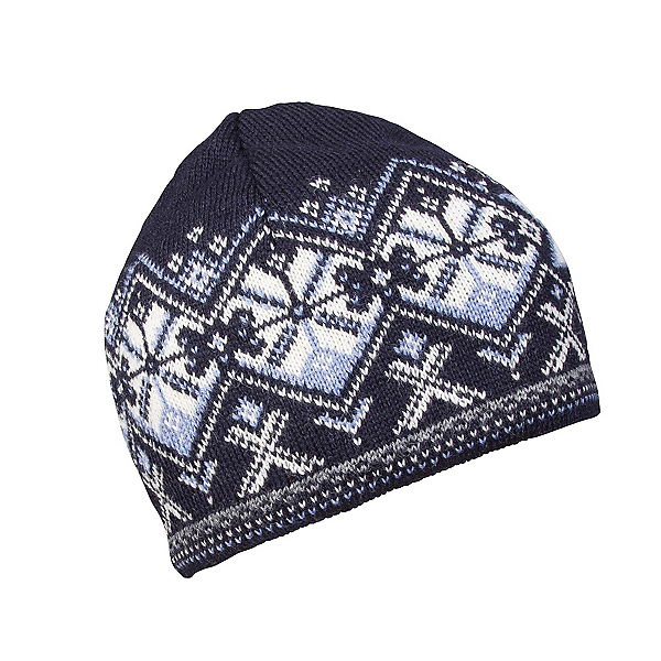 Dale Of Norway Geiranger Hat, Navy-Off White-Blue Shadow, 600