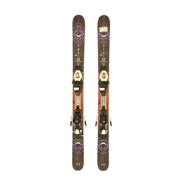Used 2018 Salomon NFX Jr Park Pipe Skis SA Bindings A Condition, , 600