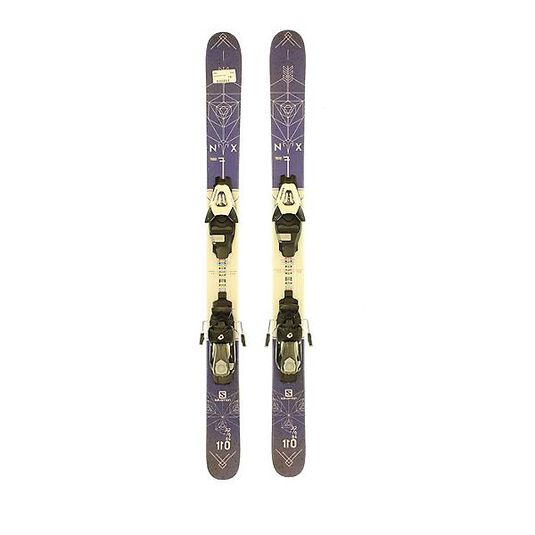 Used 2017 Salomon NFX Jr Park Pipe Skis SA Bindings C Condition, , 600