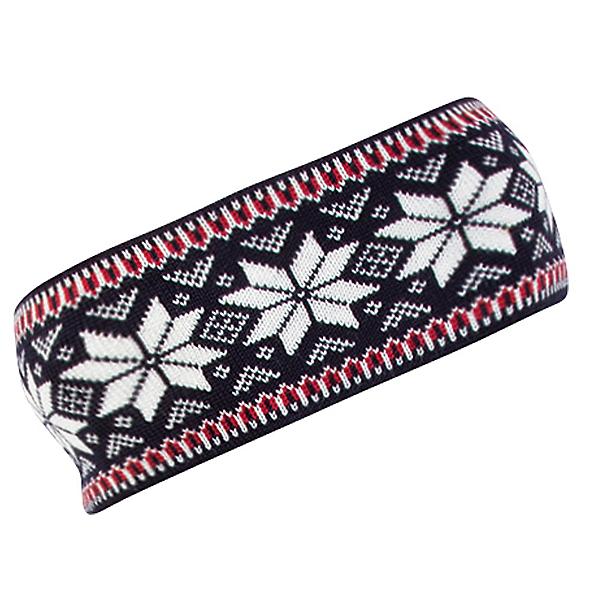 Dale Of Norway Garmisch Headband, Navy-Off White-Raspberry, 600