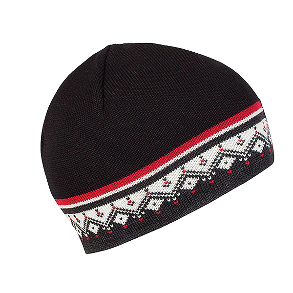 Dale Of Norway Moritz Hat, Dark Charcoal-Raspberry-Off Wh, 600