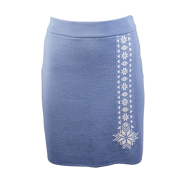 Dale Of Norway Geilo Skirt, Blue Shadow-Off White, 600