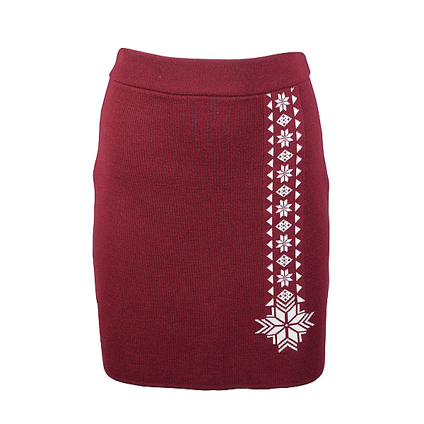 Dale Of Norway Geilo Skirt 2020, Ruby Melange-Off White, 600