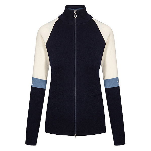 Dale Of Norway Geilo Feminine Jacket Womens Sweater 2022, Navy-Offehite-Blueshadow, 600