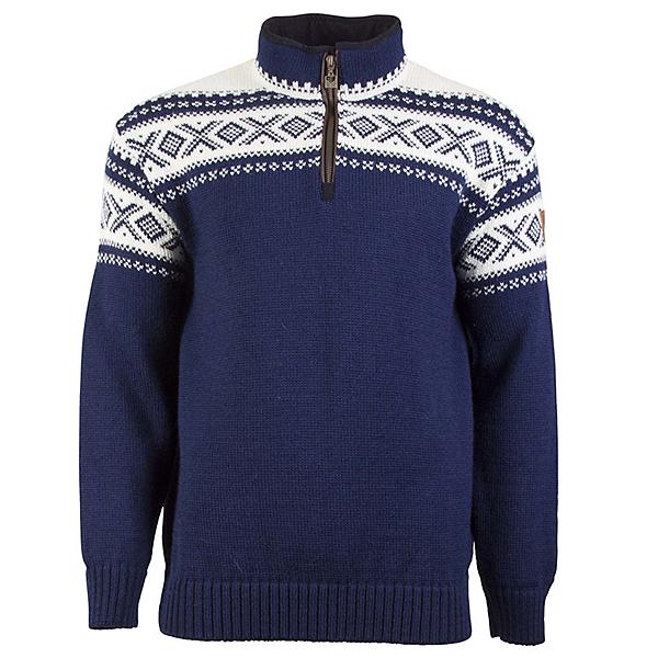 Dale Of Norway Cortina Half Zip Mens Sweater, Lightnavy-Offwhite, 600