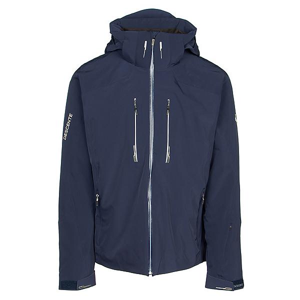 Descente Reign Mens Insulated Ski Jacket, Dark Night-Superwhite, 600
