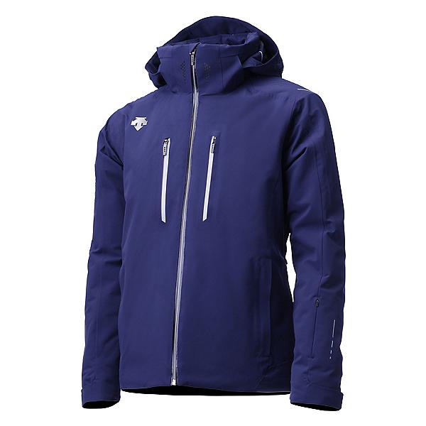 Descente Breck Mens Insulated Ski Jacket, Dark Night-Titanium, 600
