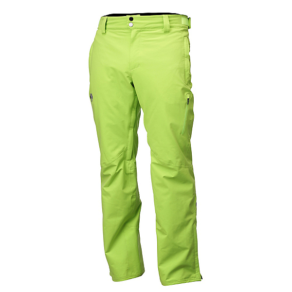 Descente Colden Mens Ski Pants, Lime Green, 600