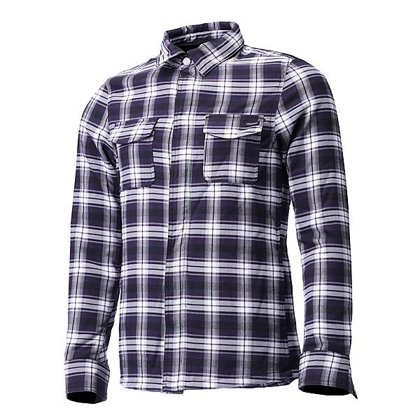 Descente Sampson Mens Shirt, Black-Titanium, 600
