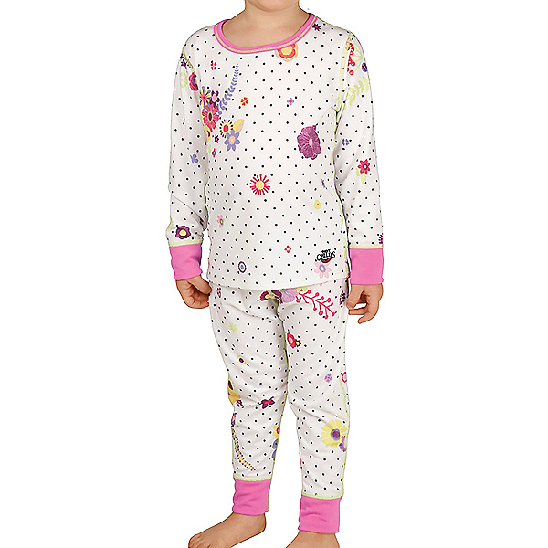 Hot Chillys Midweight Toddler Girls Long Underwear Set 2020, , 600
