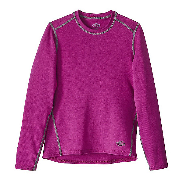 Hot Chillys MTF Crewneck Girls Long Underwear Top, , 600