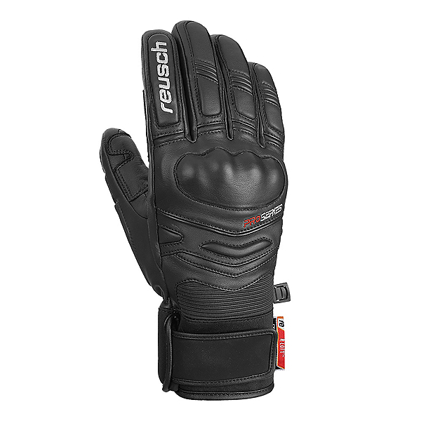 Reusch World Champ Glove Ski Racing Gloves 2020, White-Black, 600