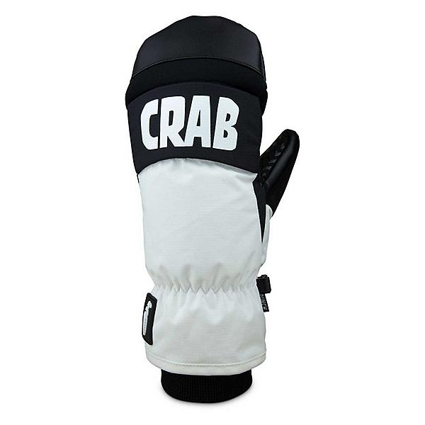 Crab Grab Punch Mittens, White, 600