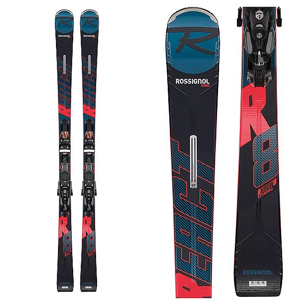 Rossignol React R8 TI Skis with Look SPX 12 Konect GW B80 Bindings, , 600