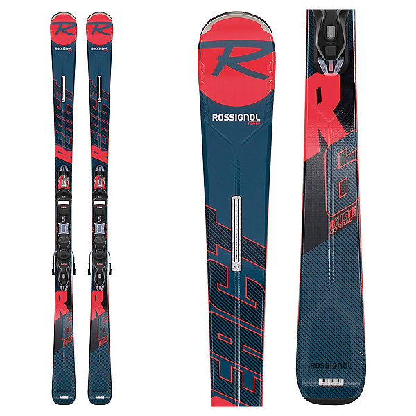 Rossignol React R6 Compact Skis with Xpress 11 GW Bindings 2020, , 600
