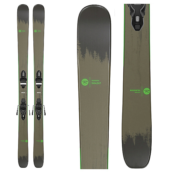 Rossignol Smash 7 Skis with Xpress 10 Bindings, , 600
