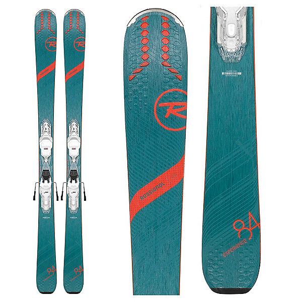 Rossignol Experience 84 AI Womens Skis with Xpress W 11 GW Bindings, , 600