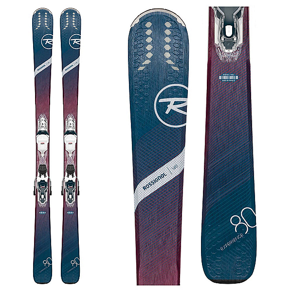 Rossignol Experience 80 CI Womens Skis with Xpress W 11 GW Bindings 2020, , 600