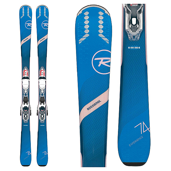 Rossignol Experience 74 Womens Skis with Xpress W 10 Bindings 2020, , 600