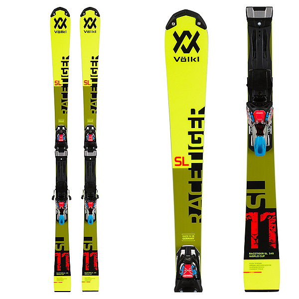 Volkl RaceTiger SL Junior Race Skis, , 600