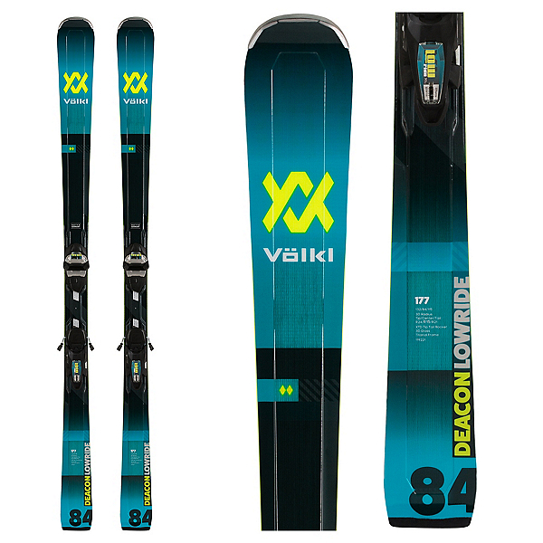 Volkl Deacon 84 Skis with LowRide XL Bindings, , 600