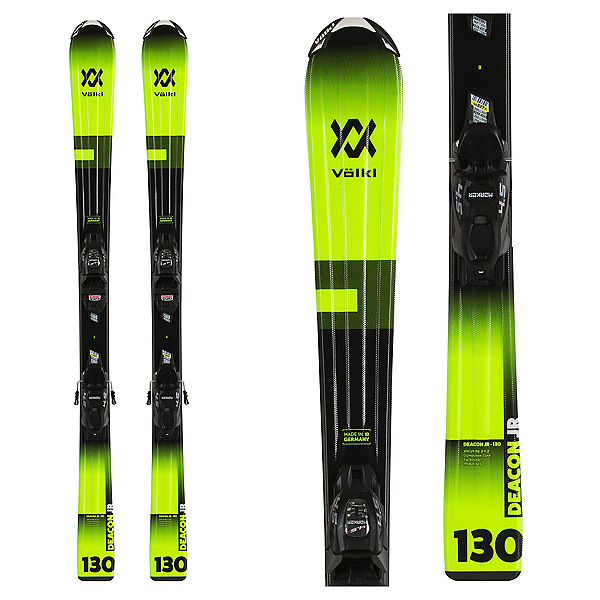 Volkl Deacon Kids Skis with vMotion 4.5 Bindings 2020, , 600