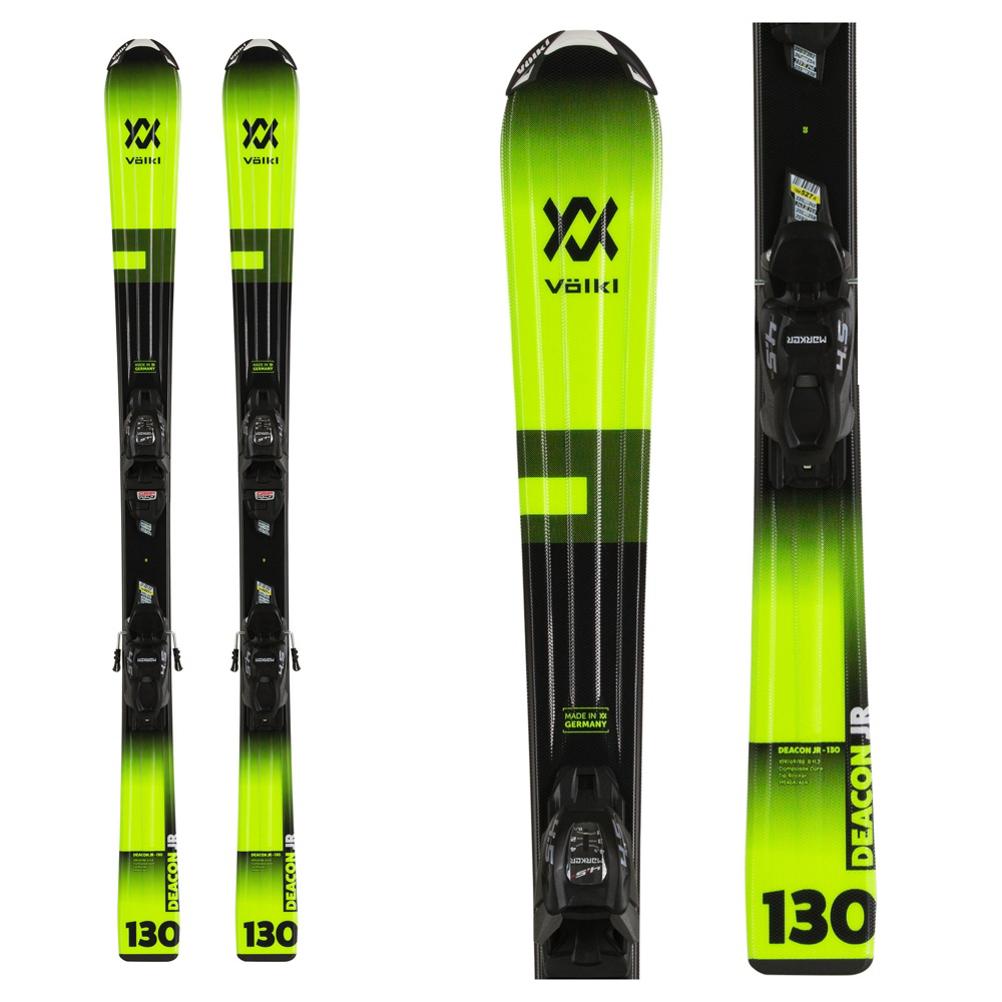 Volkl Deacon Kids Skis with vMotion 7.0 Bindings 2020