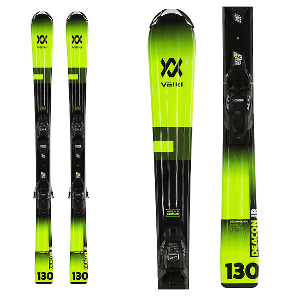 Volkl Deacon Kids Skis with vMotion 7.0 Bindings 2020, , 600