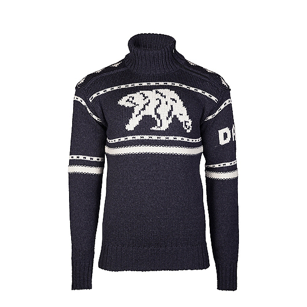 Dale Of Norway Isbjorn Mens Sweater, Dusty Navy-Off White, 600
