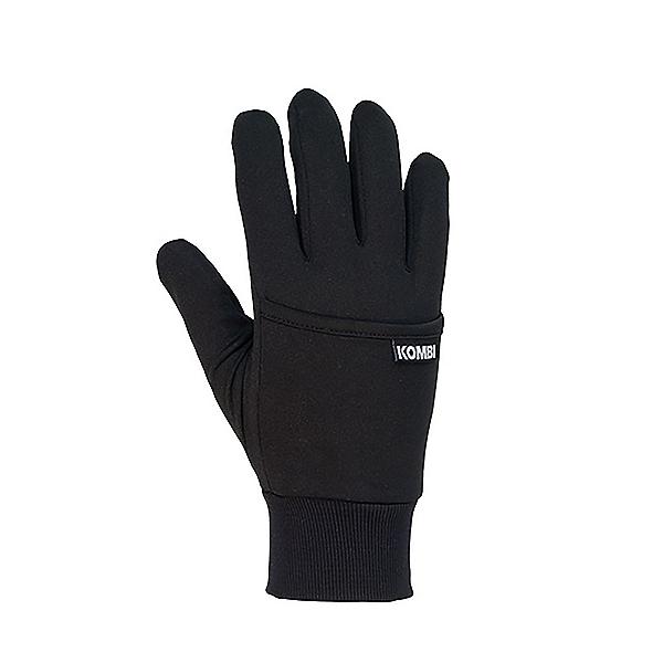 Kombi Kanga Glove Liners, Black, 600
