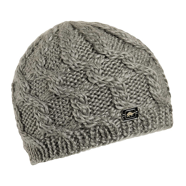 Turtle Fur Entwined Womens Hat 2020, Gray, 600