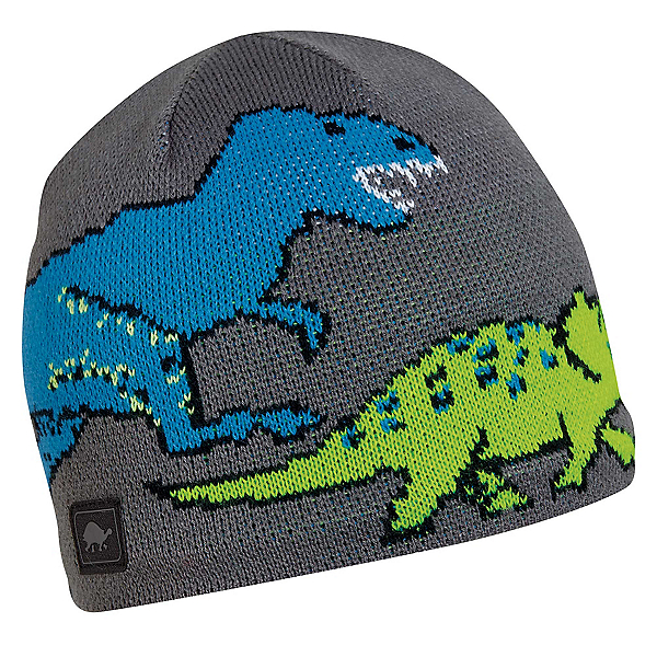 Turtle Fur Jurassic Kids Hat, Gray, 600