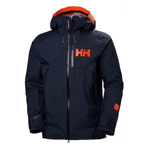 Helly Hansen Sogn Mens Shell Ski Jacket, Navy, 600