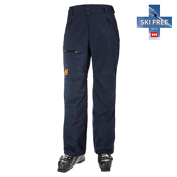Helly Hansen Sogn Cargo Mens Ski Pants, Navy, 600