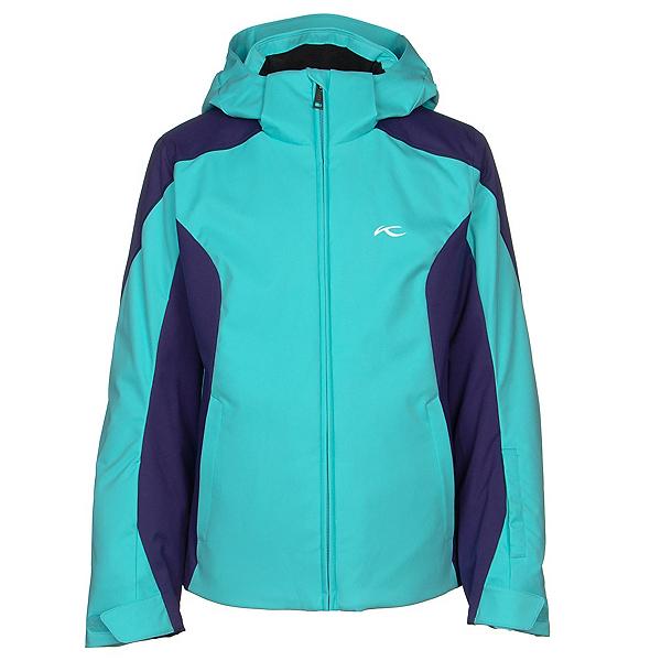 KJUS Formula Girls Ski Jacket 2020, Mystic Sea-Into The Blue, 600