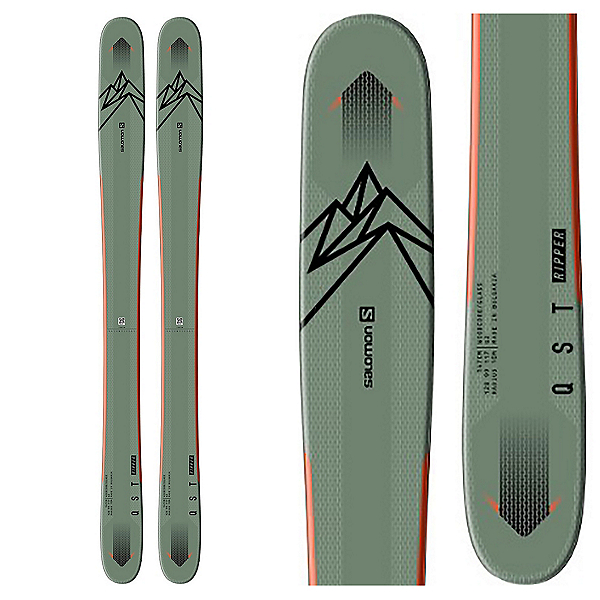 Salomon QST Ripper Kids Skis 2021, , 600