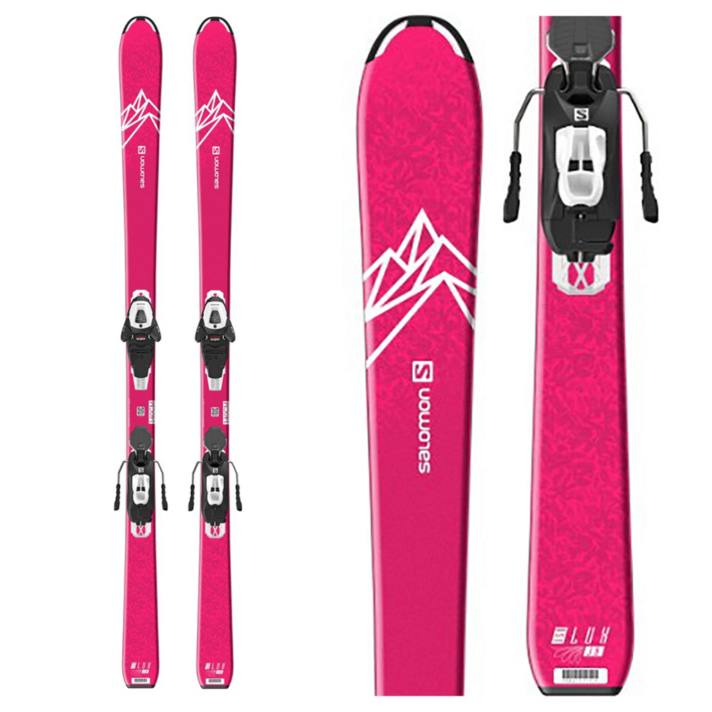 Salomon QST Lux Jr M Kids Skis with L6 GW Bindings 2020